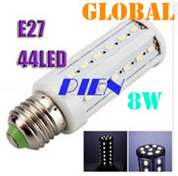 Wholesale cool pieces resale online - Cheap Piece LED Bulb W SMD LED Corn Bulbs Indoor Lighting E27 E26 B22 E14 LED Lamp Cool White Warm White V V By DHL