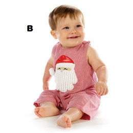 christmas bowties UK - 2013 christmas gifts baby clothes baby romper shorts santa bodysuit bowties X'mas jumpsuit toddler outfit overall shortalls D63