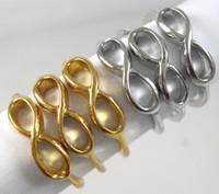 ingrosso un senso gioielli dell'oro-50x Gold / Silver Mix One direction anelli infinity rings Vendita all'ingrosso di gioielli Fashoin Lots