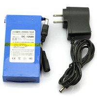 Wholesale 12v Cam - Rechargeable Battery DC 12V 6800mah for CCTV Cam Super Rechargeable Li-ion Battery Long time working H352