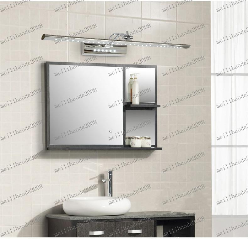 LLFA90 40 cm 5W LANHOME LED Korte Moderne roestvrijstalen badkamer Spiegelkast Mirror Light Cosmetische Lamp Licht Verlichting