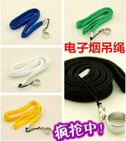 Wholesale Pendant Necklace For Ego - Multi Colors Portable Pendant Necklace for eGo Necklace String Neck Chain Lanyard E Cigarette