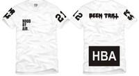 freies t-shirt großhandel-Freies Verschiffen chinesische Größe S - XXXL Sommert-shirt HBA-T-Shirt Haube auf dem Luftweg HBA X gewesen Trill Kanye Westt-shirt 100% Baumwolle 6 Farbe