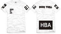 chemise d'été chinoise achat en gros de-Livraison gratuite Chinois Taille S - XXXL été t-shirt HBA t shirt Hood By Air HBA X été Trill Kanye West tee shirt 100% coton 6 couleurs