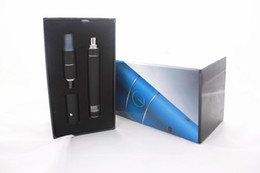 Wholesale Ego Battery Lcd Kit - AGO G5 Herb Vaporizer LCD Puff Counts Portable Pen Style Dry Herb Vaporizer Cartomizer Clearomizer with battery Charger for e-cig ego kit