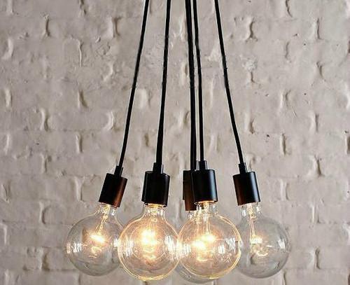 Y Edison Chandelier Light Pendant Lamp Ceiling