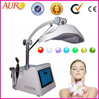 Wholesale Led Photo Rejuvenation Therapy - Christmas promotion PDT photo therapy LED light facial skin rejuvenation machine equipment with CE approval Au-2