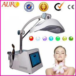Wholesale led light therapy equipment - Christmas promotion PDT photo therapy LED light facial skin rejuvenation machine equipment with CE approval Au-2