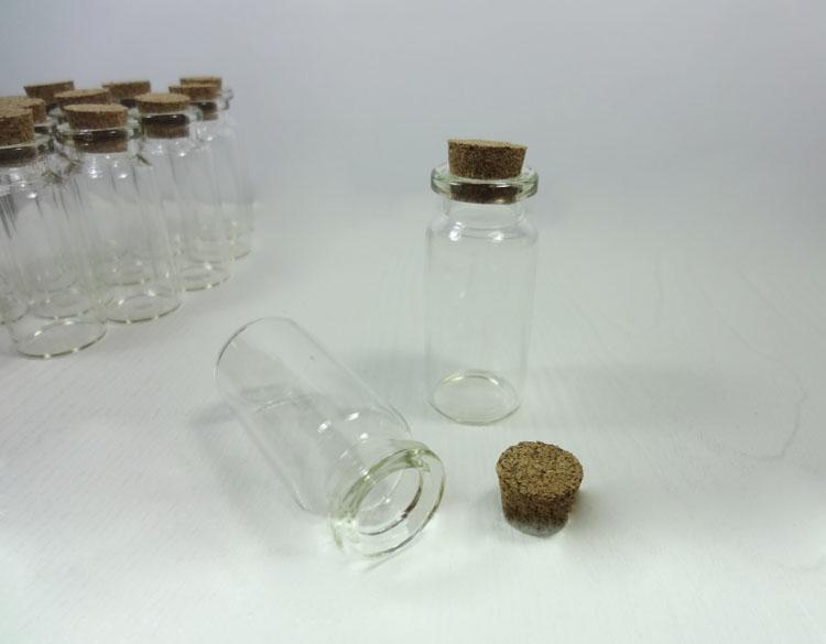 50×22mm希望ボトル、ペンダントボトル空のクリアコルクガラス瓶#Z0 Z0販売送料無料