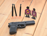Wholesale Sucker Darts - Creative Sucker Gun Target Shooting Soft Bullet Darts Child Safety Toys Novelty Games