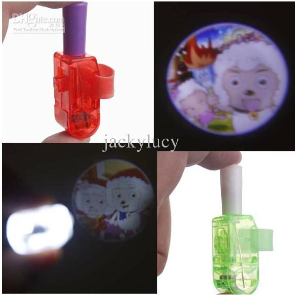 New Arrival Novelty Children finger lights projector lamp for Christmas gifts kids toys 001