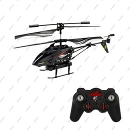 Wholesale Helicopter Radio Control - GLL172 WL S977 3.5 CH Radio remote Control Metal Gyro rc Helicopter With Camera