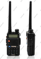 GLL222 Walkie-talkie à bande double de vente chaude BAOFENG UV-5R VHF portable UHF radio bidirectionnelle