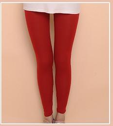 $enCountryForm.capitalKeyWord Canada - Brand quality cotton lady leggings lady & girl & women casual fashion candy color leggings pantyhose 20color 30pcs