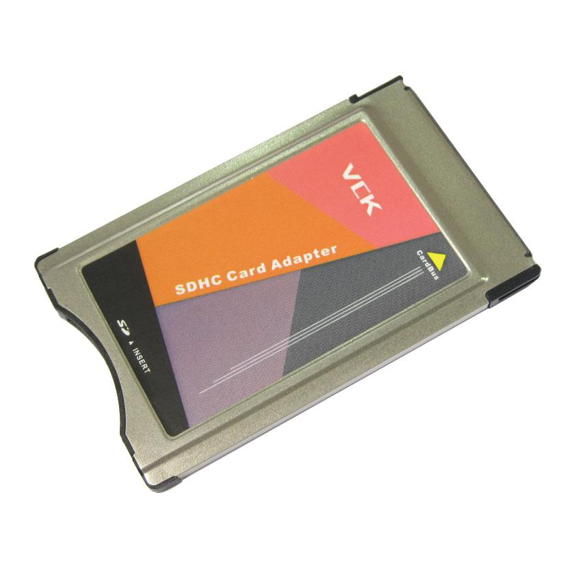 2018 new original pcmcia to sd sdhc pc card adapter for for Pcmcia card for mercedes benz