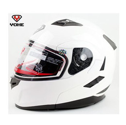 $enCountryForm.capitalKeyWord NZ - undrape face helmet white YOHE 953 doublelens dual Lens open face motorcycle Motorbike ABS shell helmets