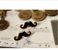 Wholesale Earrings Studs Moustache - 1086 jewelry sexy cute moustache stud earrings earrings support mixed batch of restoring ancient ways