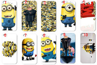 Wholesale Despicable Iphone Casing - Free Shipping Wholesale 10pcs lot Despicable Me hard case cover for iphone 5 5s