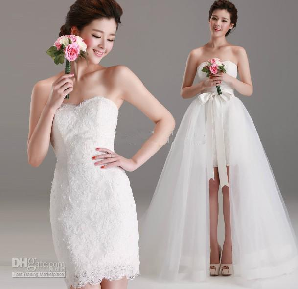 Discount 2013 New Wedding Dresses Sweetheart Two Piece Design Lace ...