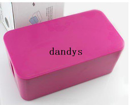 Wholesale Hot Box Free Cable - Free shipping(1pc)HOT SALE Large-capacity cable wire storage box