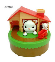 Wholesale Mice Shipping Boxes - Free shipping(1pc)New Cat catch mice coin saving bank money box