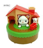 kedi para bankası toptan satış-Ücretsiz kargo (1 adet) Yeni Kedi yakalamak fareler sikke tasarrufu banka para kutusu