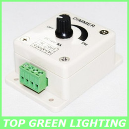 Wholesale G4 Led Dim - DC12V 24V 8A LED Dimmable Controller 12V Knob Switch LED Light Controller Dimmer for Dimmable LED G4 MR11 MR16 GU5.3 G53 12 Volt