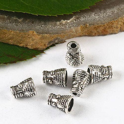 Тибетский серебряный ситечко бусины cap H2800