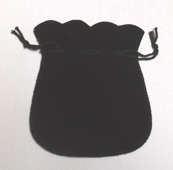 Black Velvet Jewelry Packaging Display Bags Pouches For shopping DIY Craft Fashion Gift B06