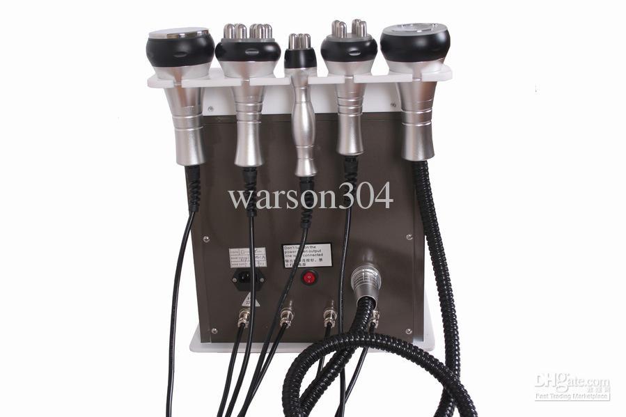 Gratis skatt Gratis Frakt till Brasilien av DHL 5 i 1 Ultraljudsfettsugning Kavitation Slimming Machine Kavitation + Vakuum + RF + Photon