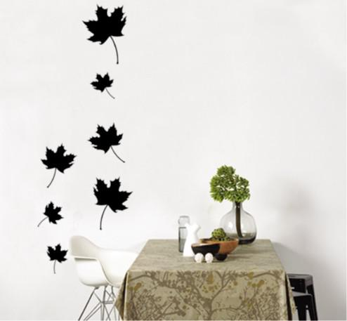 Wholesale Removable Maple Leaf Wall Stickers Living Room Wallpaper Stickers  Wall Decals Large Wall Sticker Large Wall Stickers From China_crafts, ...