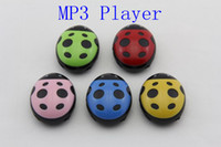 Wholesale Mp3 Player Memory Card Reader - Mp3 player Beatles style with bulit-in battery support TF card micro card no memory colorful in stock 200pcs