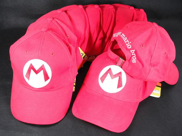 Super Mario baseball hat cap Cosplay Hat super mario hat super mario cap