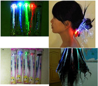 Novelty Creative Flashing LED Braid Hair Decoration Toys for...