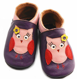 elephant shoes Coupons - 1Pair infant owl first walker shoes baby elephant walking shoes Baby Genuine Leather Walking Shoes