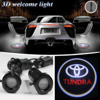 Wholesale Toyota Welcome Light - new arrive !!! Car door laser projector LED welcome Ghost Emblem Light For TOYOTA TUNDRA