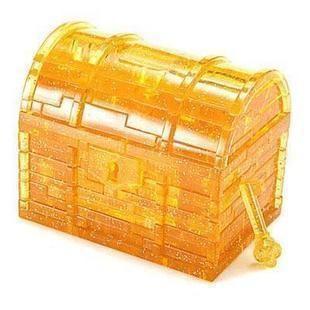 Hazine kutusu 3d kristal bilmecenin 47 adet