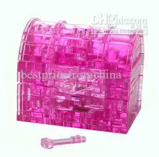 صندوق الكنز 3D بانوراما اللغز