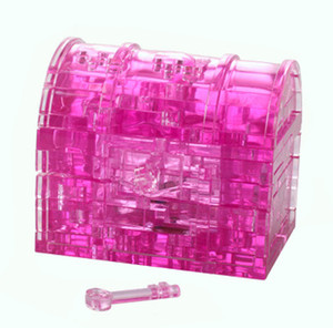 rompecabezas de caja 3d al por mayor-Treasure Box D Crystal Jigsaw Puzzle