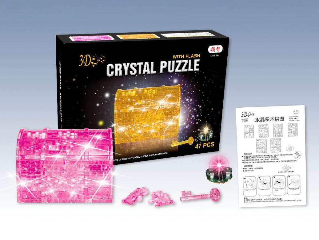 Treasure Box 3D Crystal Jigsaw Puzzle