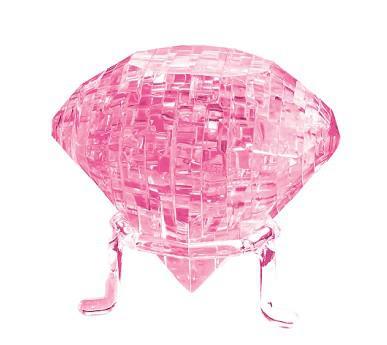 Rompecabezas de cristal 3D en forma de diamante 41 piezas