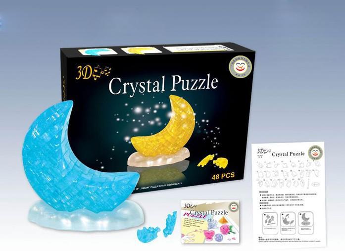 Moon 3D Crystal Jigsaw Puzzle 48st