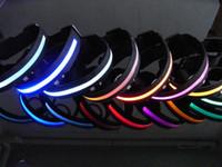 colarinho cão xl venda por atacado-Cão de estimação LED colarinho Pet Glow Piscando LED Collar Colar Trelas Ajustável (S, M, L, XL)