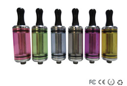 Wholesale Ego 6ml Atomizer - Newest colourful 6ml 3.5ml DCT clearomizer 510 DCT CE4 CE6 cartomizer clear atomizer for ego series