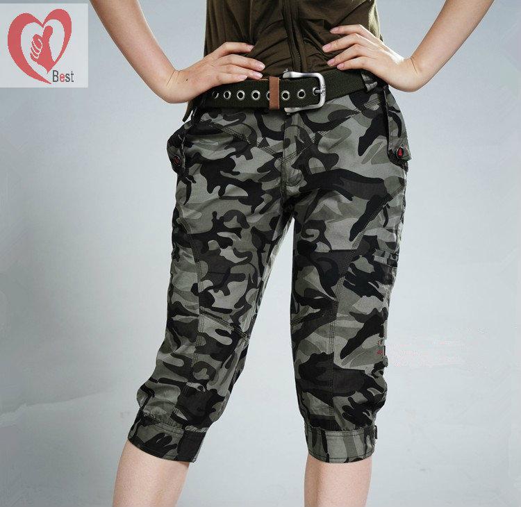 Army Capri Pants