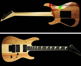 Wholesale China Guitars Neck - OEM JACKGuitar custom shop guitar Wood color one piece neck New Arrival Electric Guitar From China