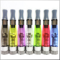 Wholesale E Cig Ce6 Clearomizer Wicks - Colorful CE4+ Plus Atomizer for Electronic Cigarette Clearomizer Long wicks CE4 V2 ce4+ CE6 e cig
