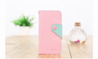 Wholesale Iphone Moz - Flip Case Korea MOZ Wallet Purse PU Leather TPU Cover Skin Shell Credit Card Slot for Iphone 5 5G