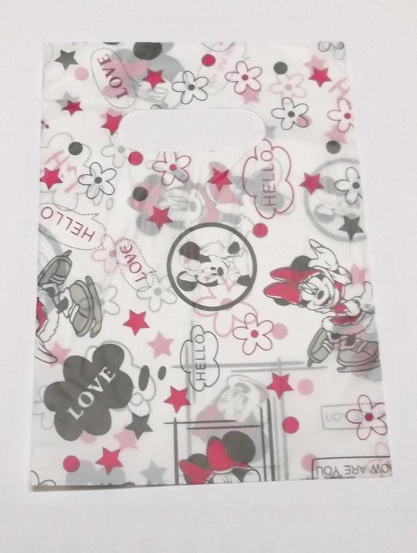 95 sztuk / partia Mix plastikowych zakupy worek torby na prezent biżuteria Craft 5.2 * 7,5 calów WB34