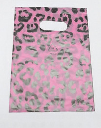 Wholesale Glossy Shop - 95pcs lot Mix Plastic Shopping Gift Bags For Gift Shopping Jewelry 5.2*7.5nch WB07 Free Shipping